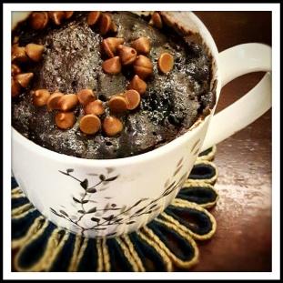 2-Min Chocolate Mug Cake