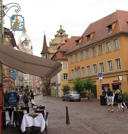 A street in Colmar