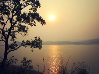 Sunset at Umiam Lake